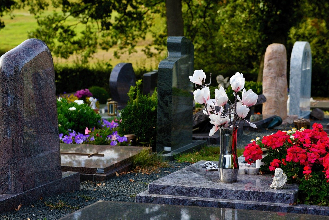 graves, cemetery, grabschmuck